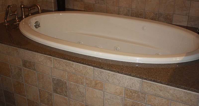 Bathtub Deck 28 Images White Jetted Tub With Carrara