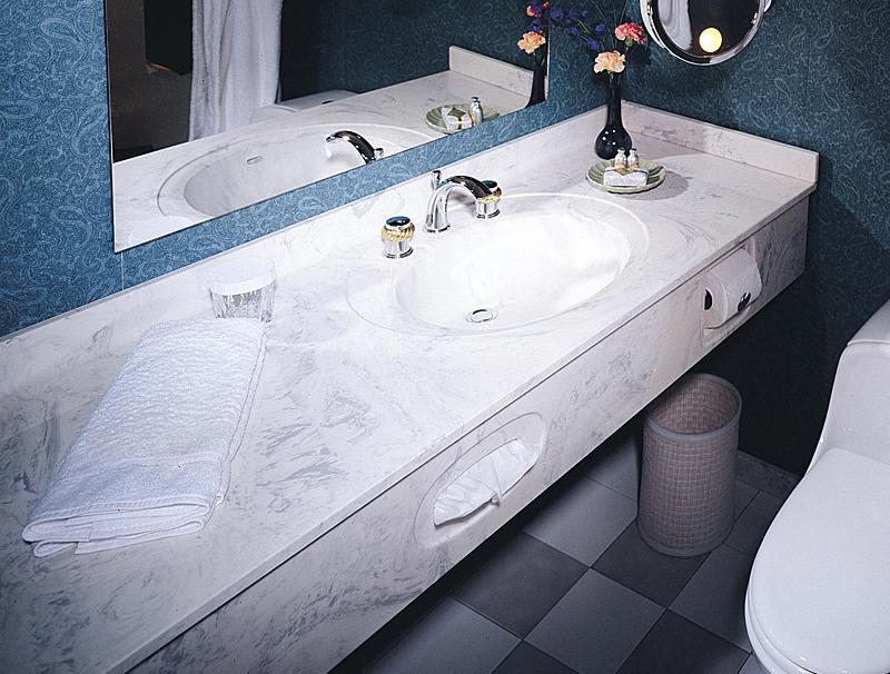 Custom Granite Vanity Tops : Tere stone vanity top sweet puff glass pipe