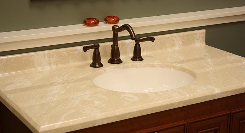 Standard vanity tops taylor tere stone - Custom size bathroom vanity tops ...